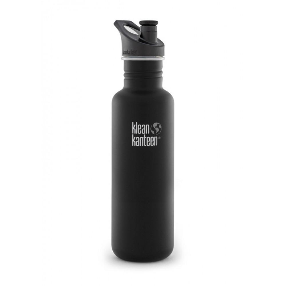 Klean Kanteen 800 ml. Shale Black sportscap-31