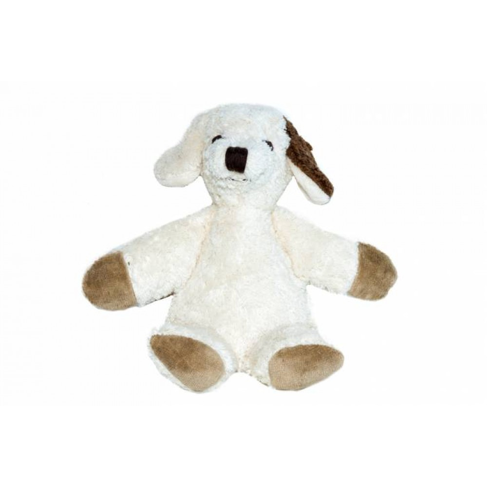 Kallisto økologisk bamse lille hvid hund-31
