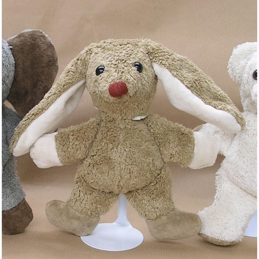 Kallisto økologisk bamse brun kanin-01