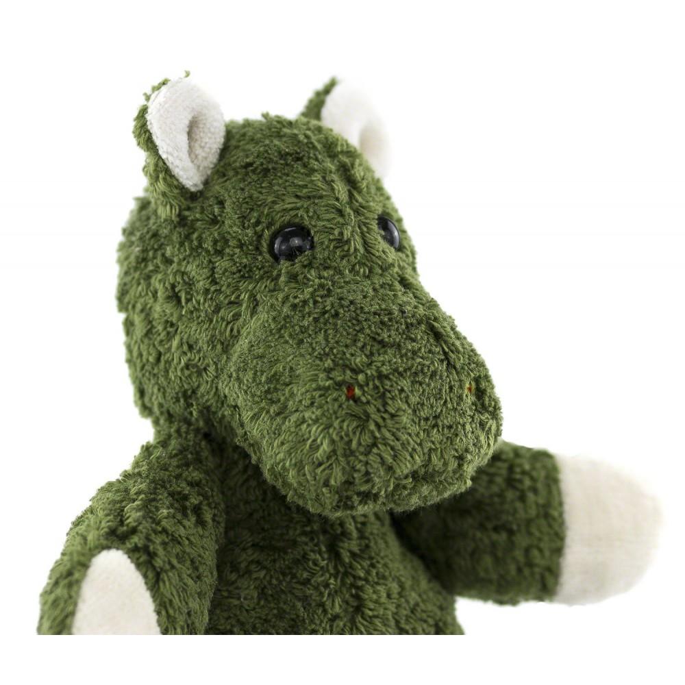 Kallisto økologisk bamse grøn flodhest-01