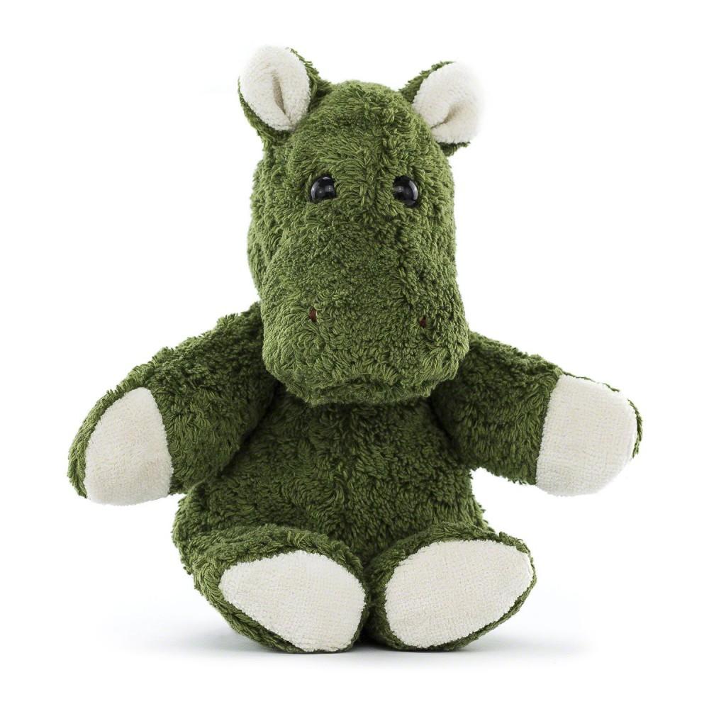 Kallisto økologisk bamse grøn flodhest-31