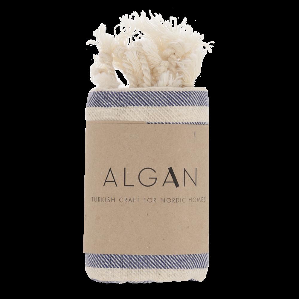 Algan Kavun gæstehåndklæde 45x90 cm. marine-31