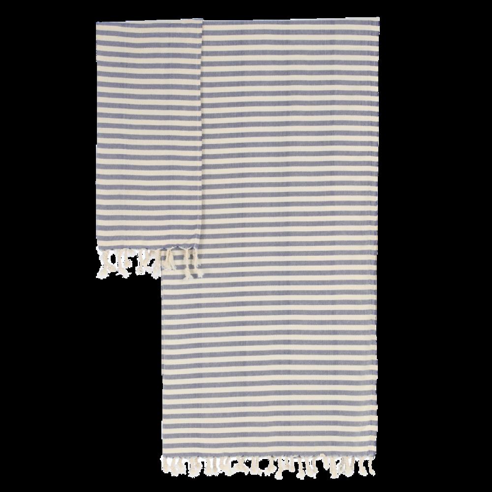 Algan Kavun gæstehåndklæde 45x90 cm. marine-01