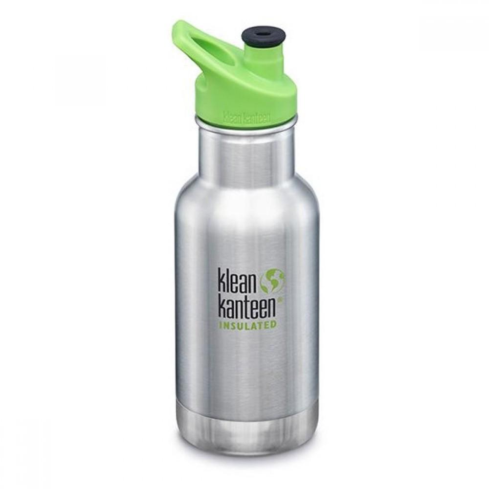 Klean Kanteen 355 ml. med sportscap termoflaske stål-31
