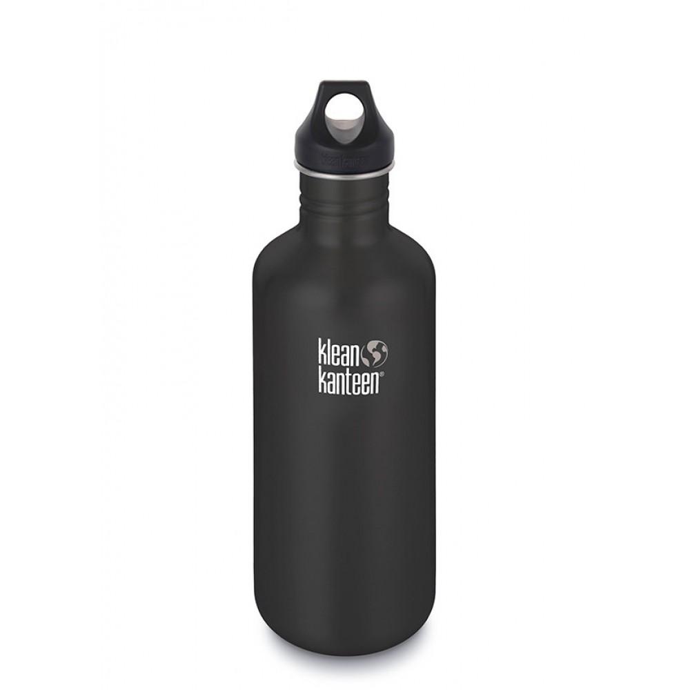 Klean Kanteen 1182 ml. Shale Black skruelåg-33