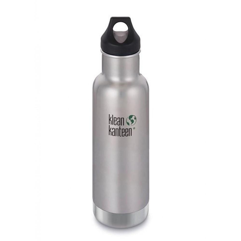 Klean Kanteen termoflaske 592 ml. børstet stål-31