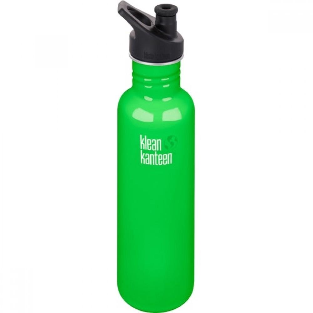 Klean Kanteen 800 ml. spring green sportscap-31