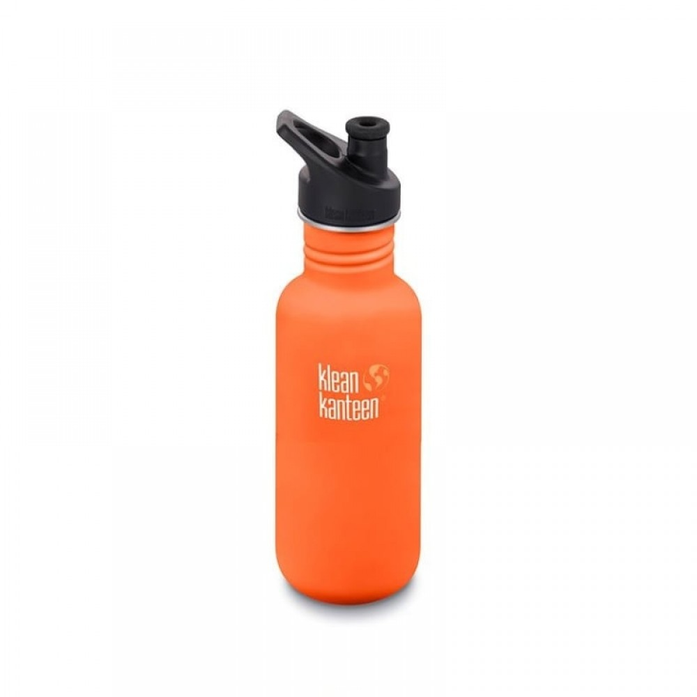 Klean Kanteen 532 ml. drikkedunk sierra sunset sportscap-31