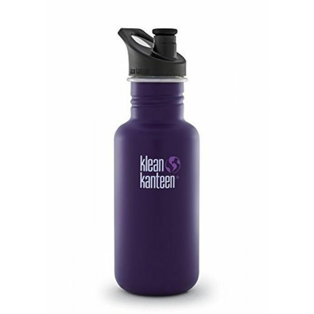Klean Kanteen 532 ml. drikkedunk winter plum sportscap-31