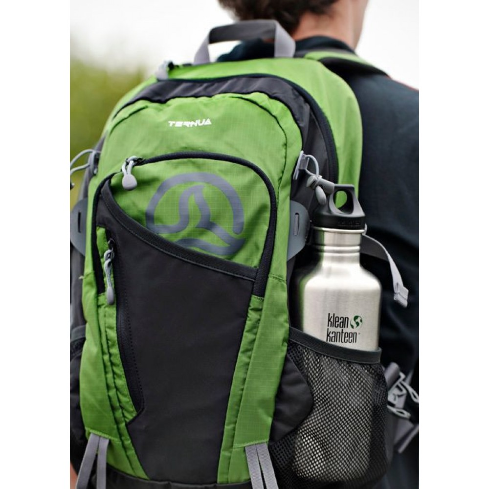 Klean Kanteen 1182 ml. Blue Planet skruelåg-03