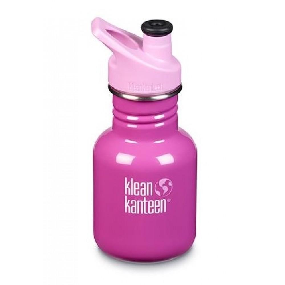 Klean Kanteen 355 ml. drikkedunk Bubble Gum sportscap-31