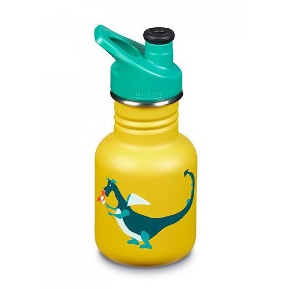 Klean Kanteen 355 ml. drikkedunk Dragon Snack sportscap-31