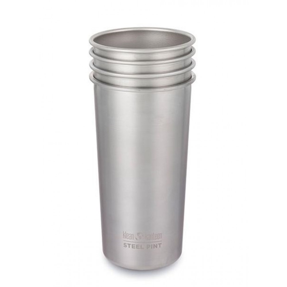 Klean Kanteen 4 kopper i stål 592 ml-31