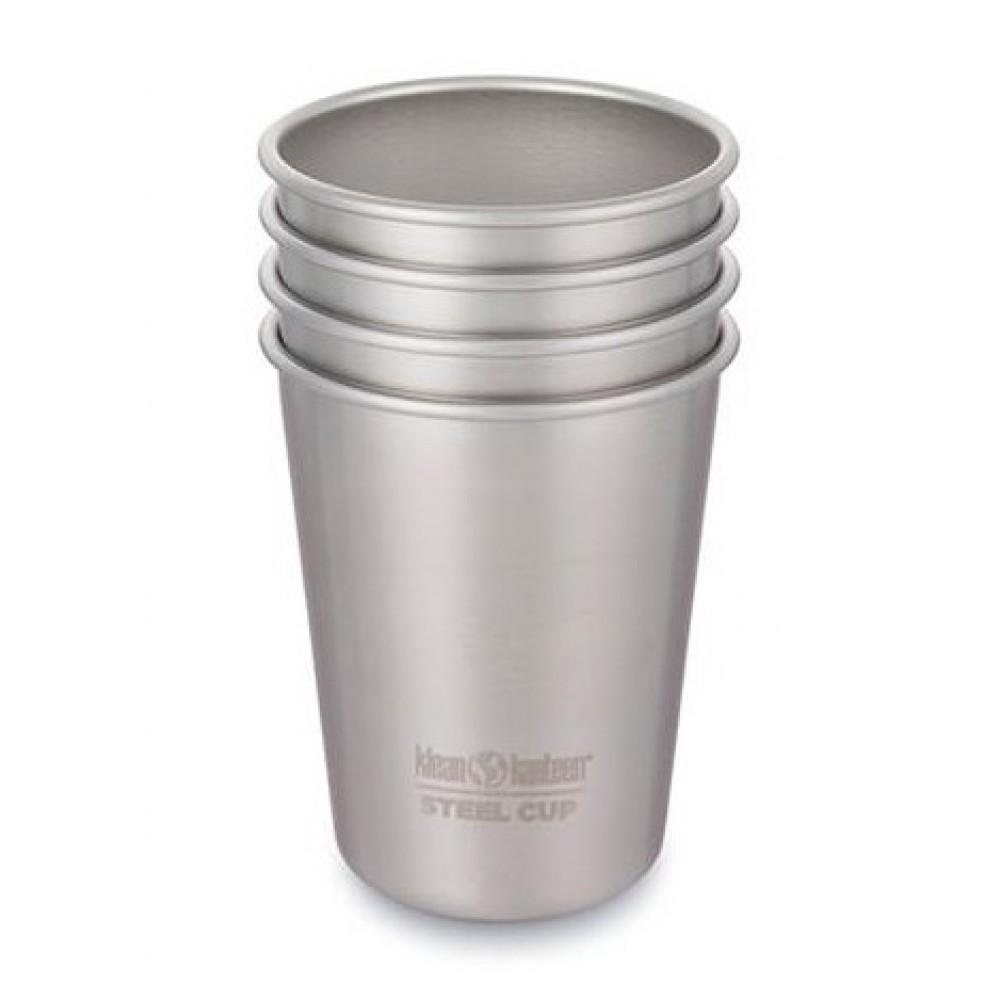 Klean Kanteen 4 kopper i stål 296 ml.-31
