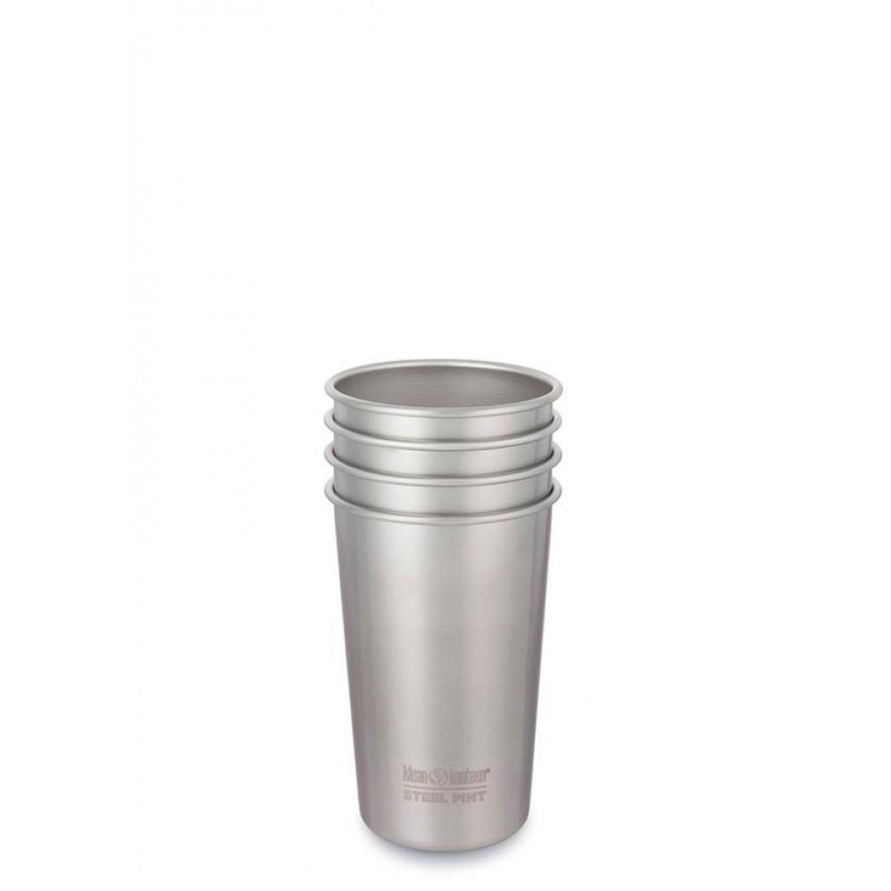 Klean Kanteen 4 kopper i stål 473 ml.-31