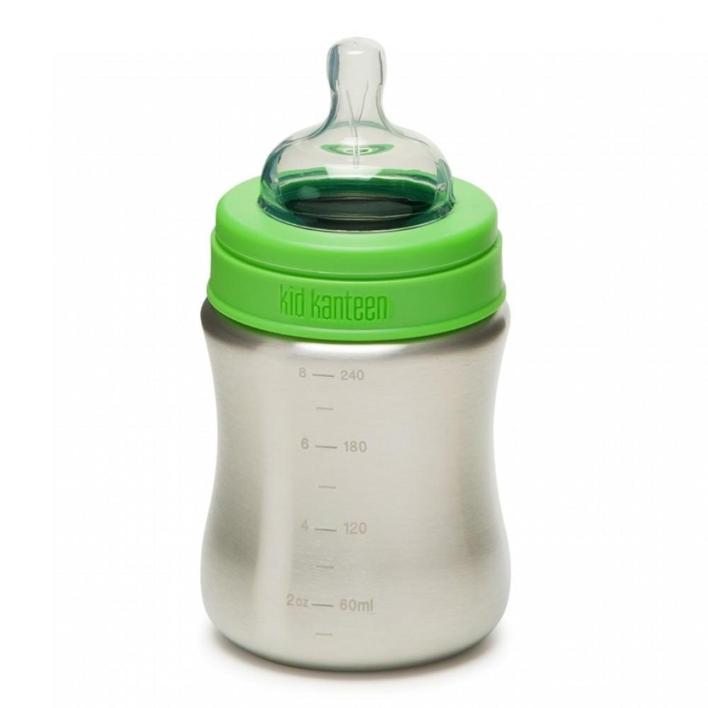Klean Kanteen sutteflaske i stål 266 ml.-32