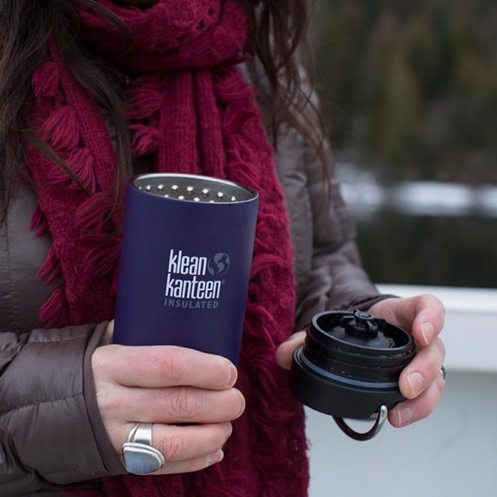 Klean Kanteen TKWIDE termokop 355 ml. café cap shale black-01