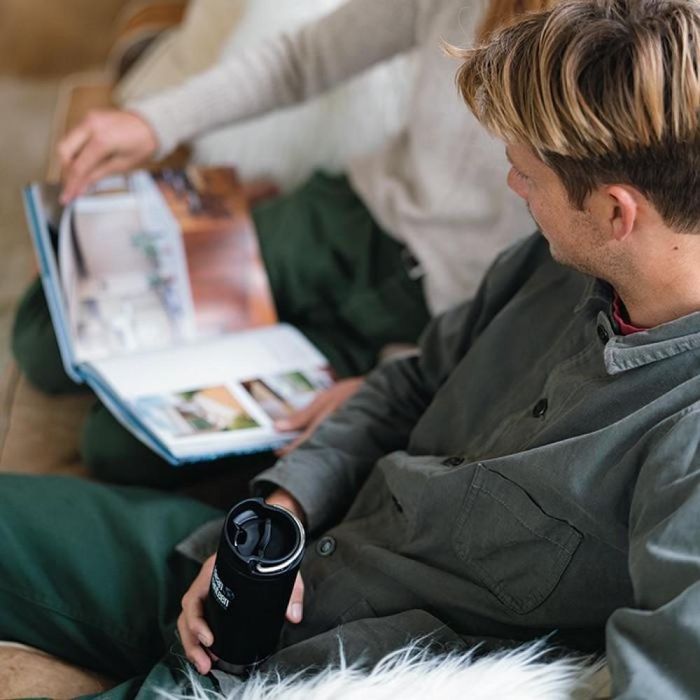 Klean Kanteen TKWIDE termoflaske 591 ml. café cap emerald bay-01