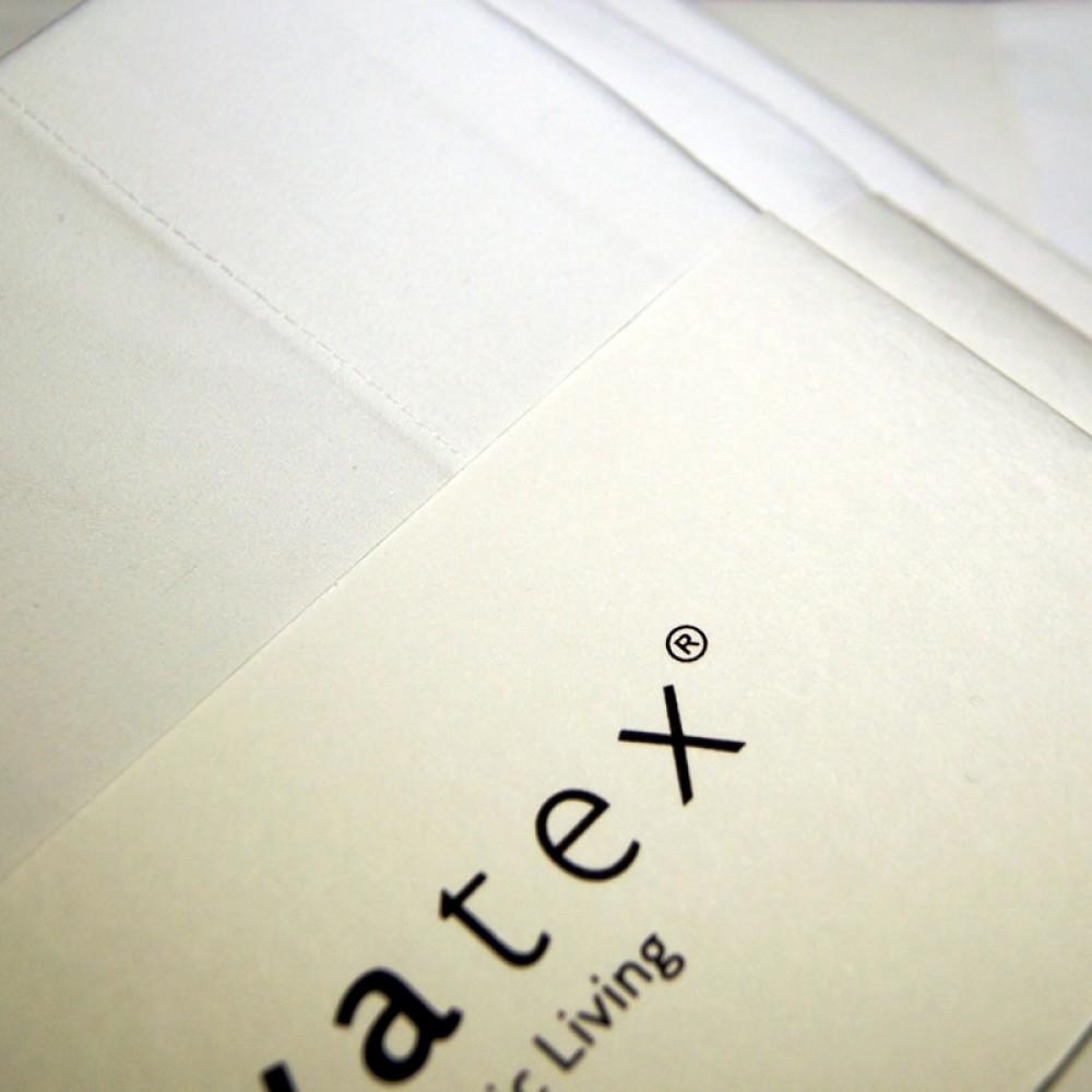 VivaTex faconlagen med elastikkant hvid flere størrelser-31