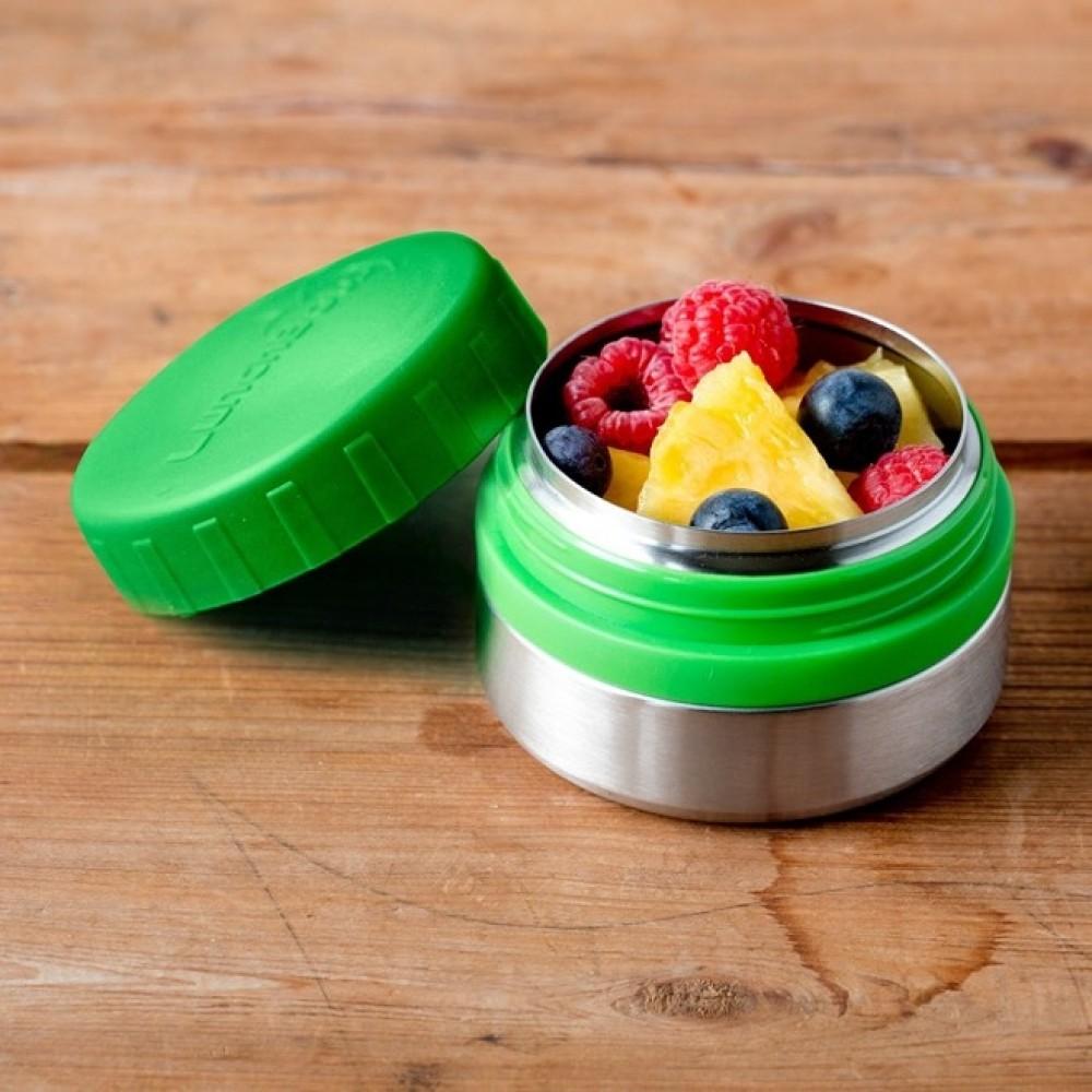 Lunch Bots madboks i stål 120 ml. grøn-01