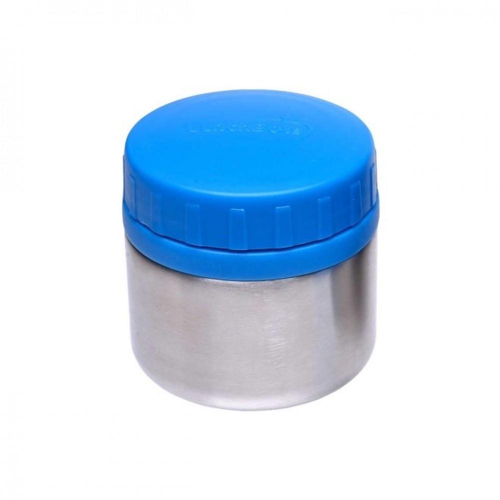 Lunch Bots madboks i stål 235 ml. blå-31
