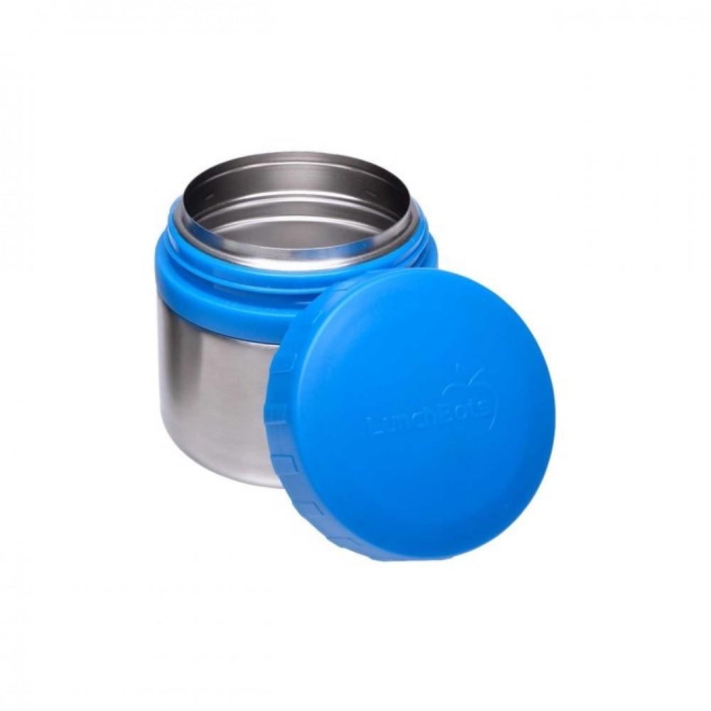 Lunch Bots madboks i stål 235 ml. blå-01