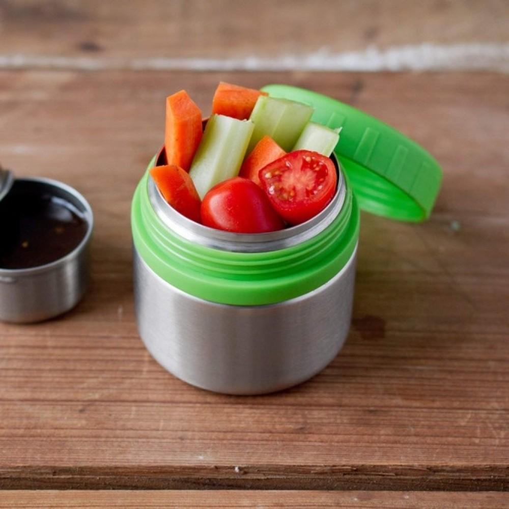 Lunch Bots madboks i stål 235 ml. grøn-01