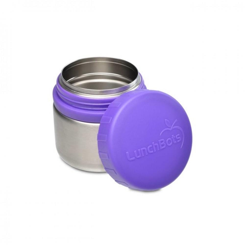 Lunch Bots madboks i stål 235 ml. lilla-01