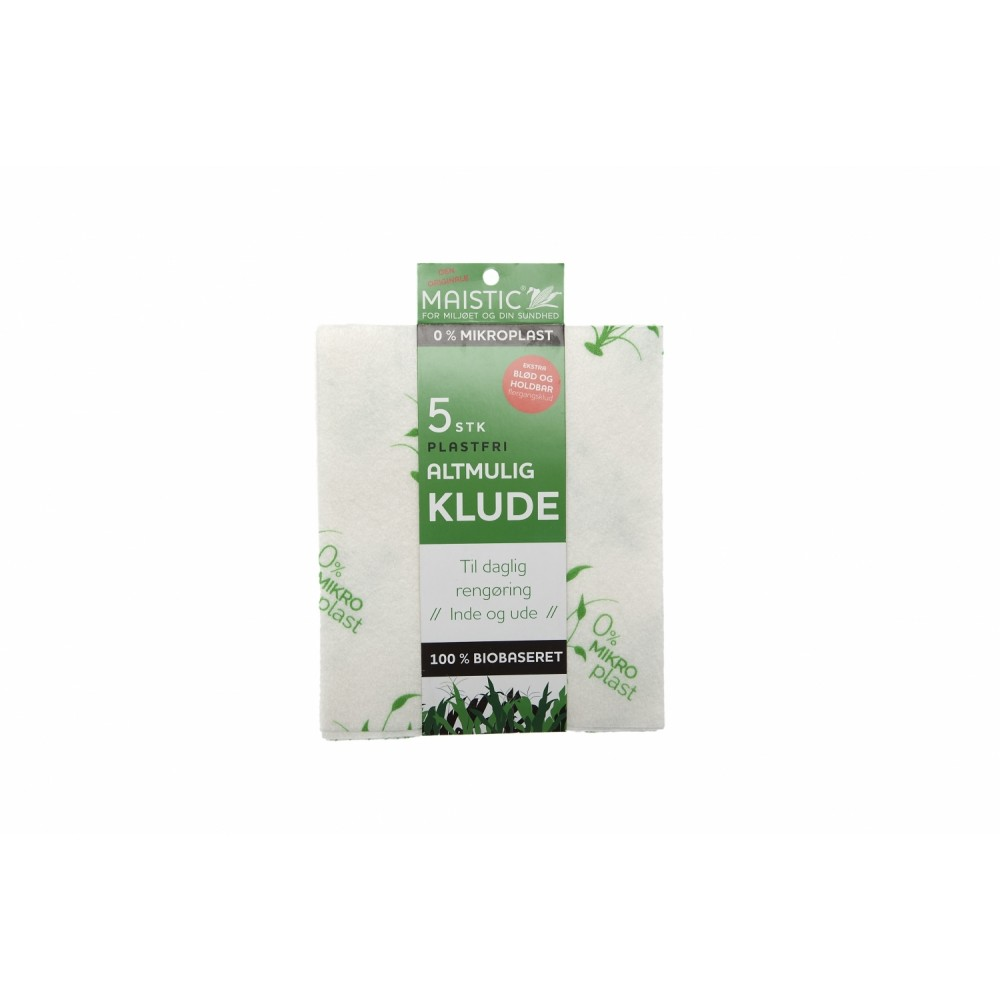 Maistic Bio Group 5 stk. karklude alt-mulig-klude plastikfri-31