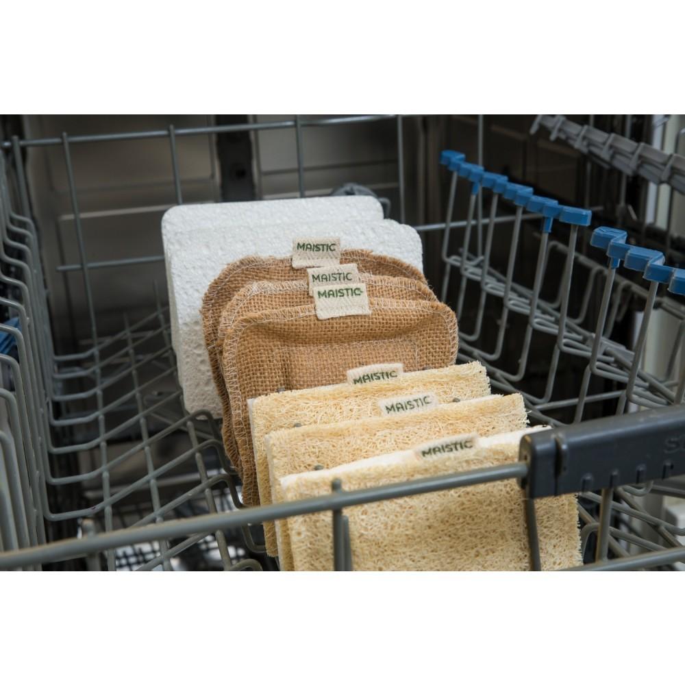 Maistic Bio Group hamp skrubbe til opvask og lettere rengøring plastikfri-01