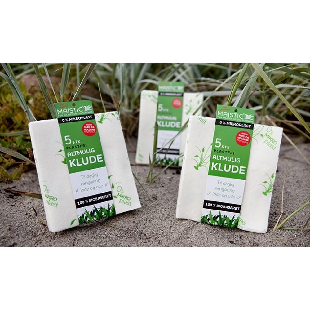 Maistic Bio Group 5 stk. karklude alt-mulig-klude plastikfri-01