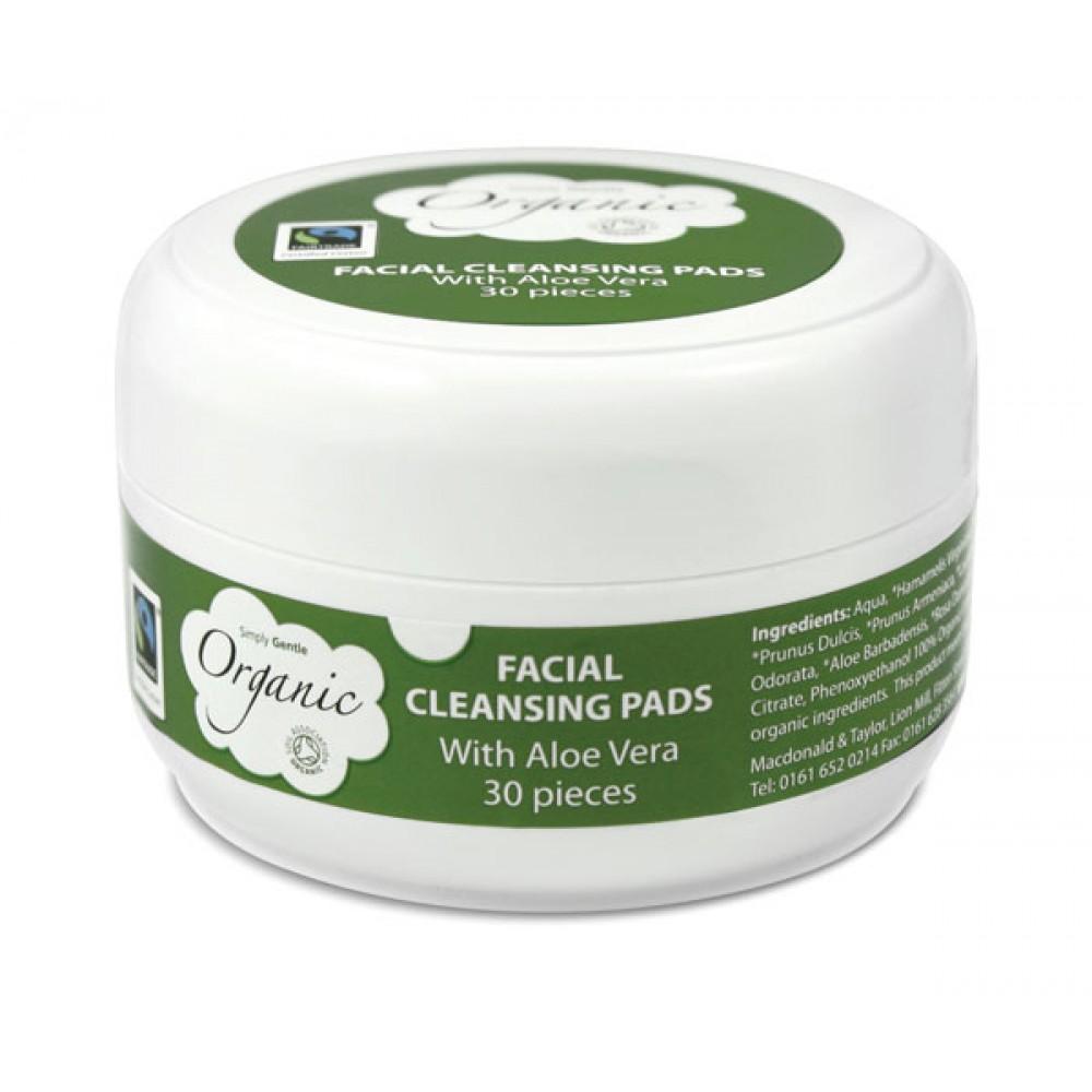 Simply Gentle makeup fjerner vådserviet 30 stk.-31