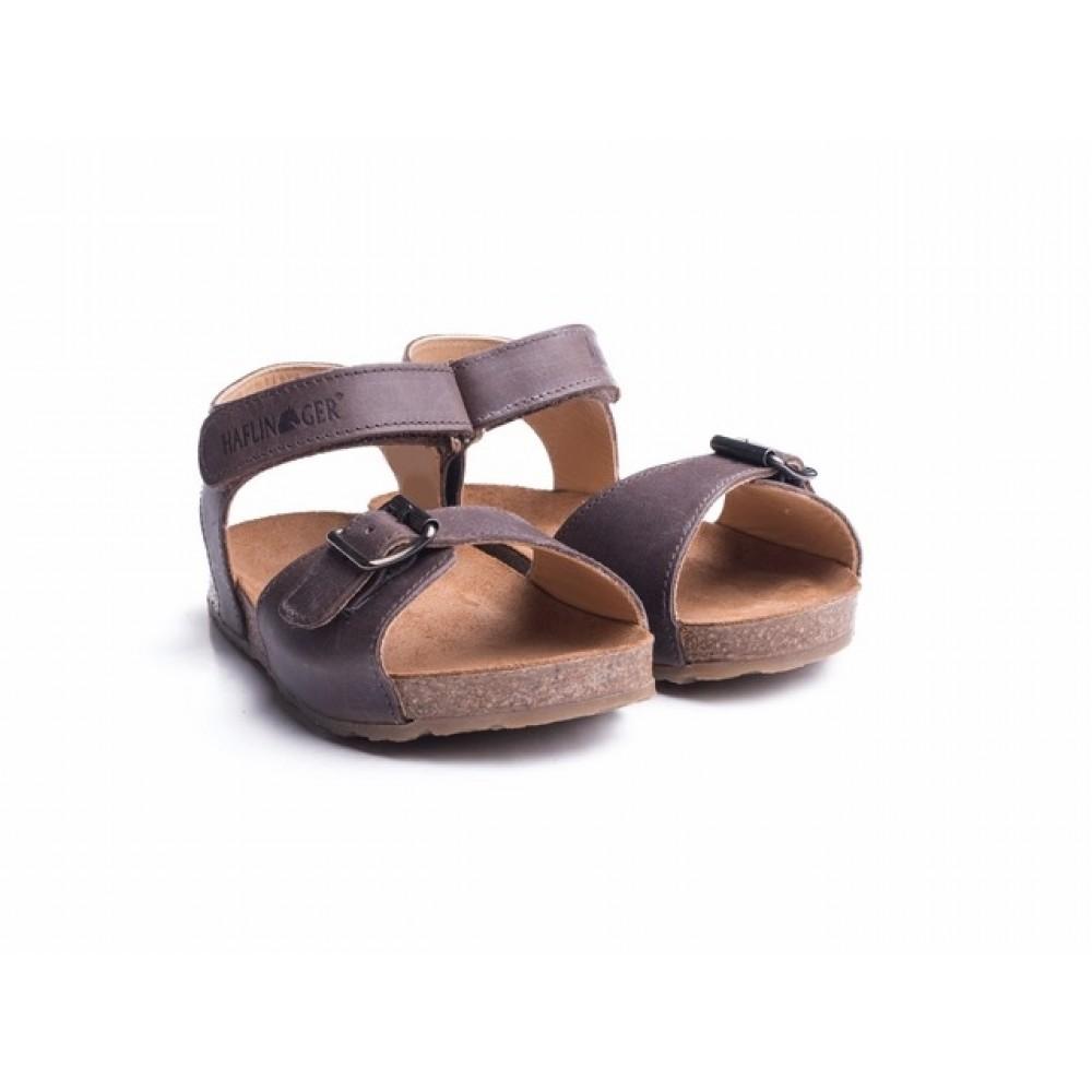 Haflinger sandaler Bio Max mørk brun-31