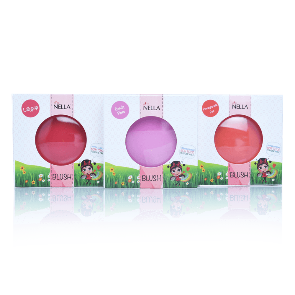 Miss Nella giftfrit make-up blush pomegranate fizz-01