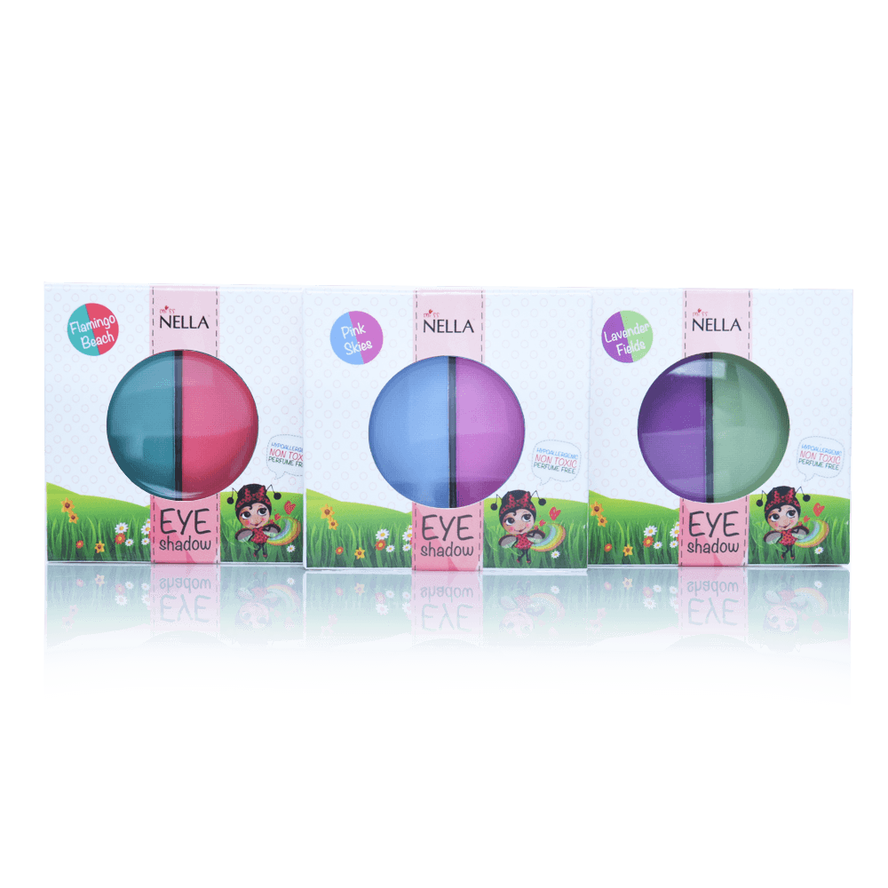 Miss Nella giftfrit make-up øjenskygge pink skies-01
