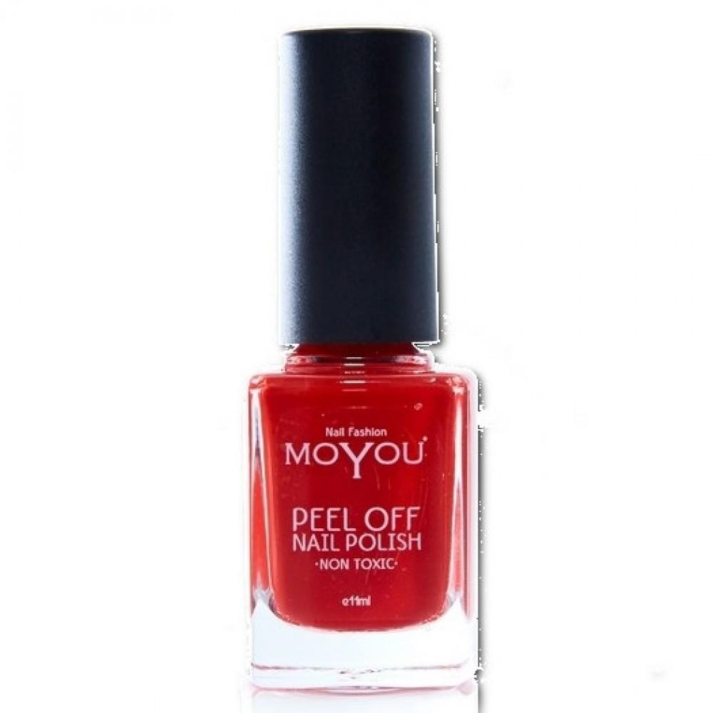 MoYou neglelak peel of Fiery Flamenco-31