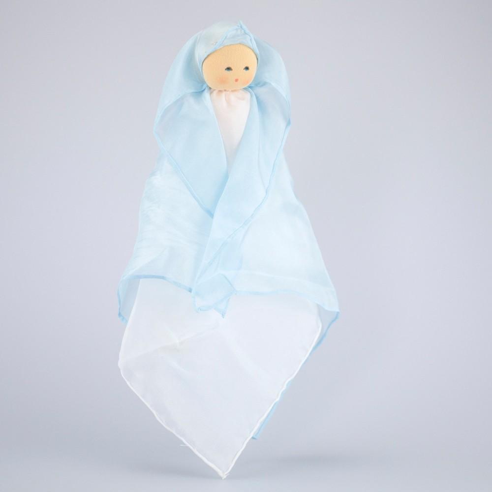 Nanchen silkedukke blå-01
