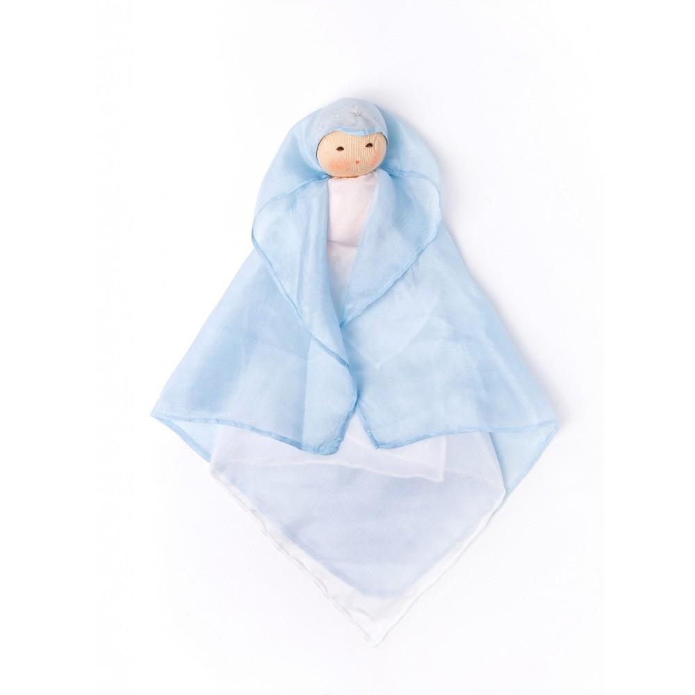 Nanchen silkedukke blå-31