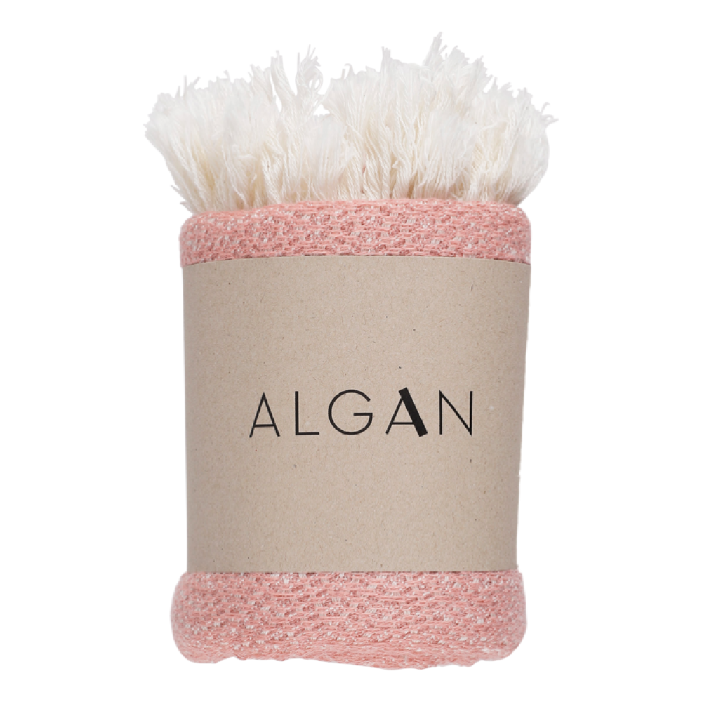 Algan Nane gæstehåndklæde 65x100 cm. gammelrosa-31
