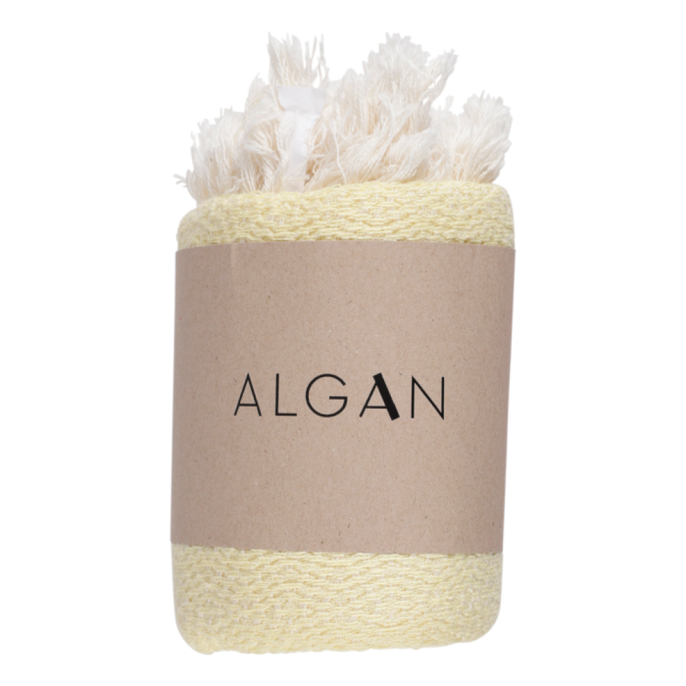 Algan Nane gæstehåndklæde 65x100 cm. gul-31