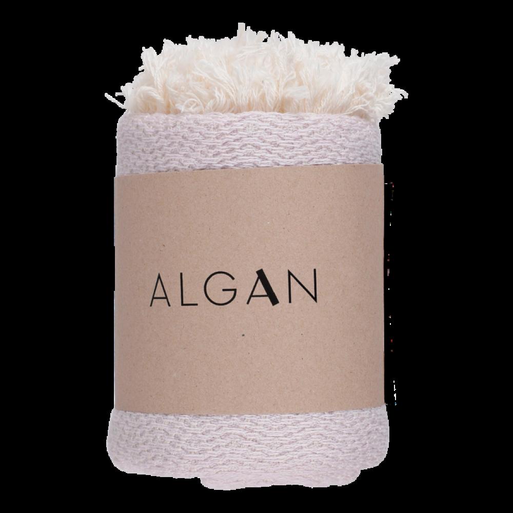Algan Nane gæstehåndklæde 65x100 cm. lavendel-31