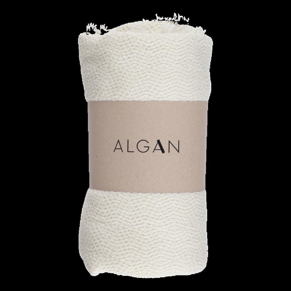 Algan Nane badelagen 100x180 cm. råhvid-31