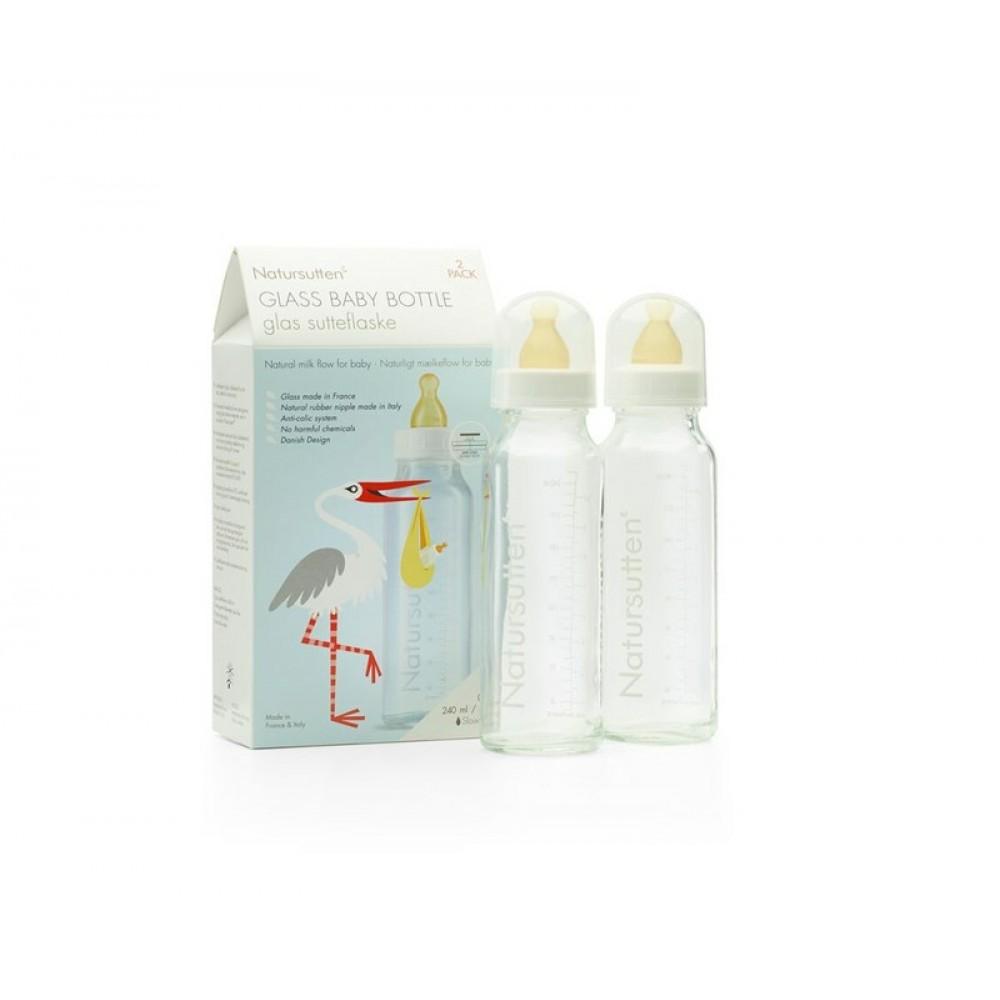 Natursutten® glas sutteflasker 240 ml. 2-pak-31