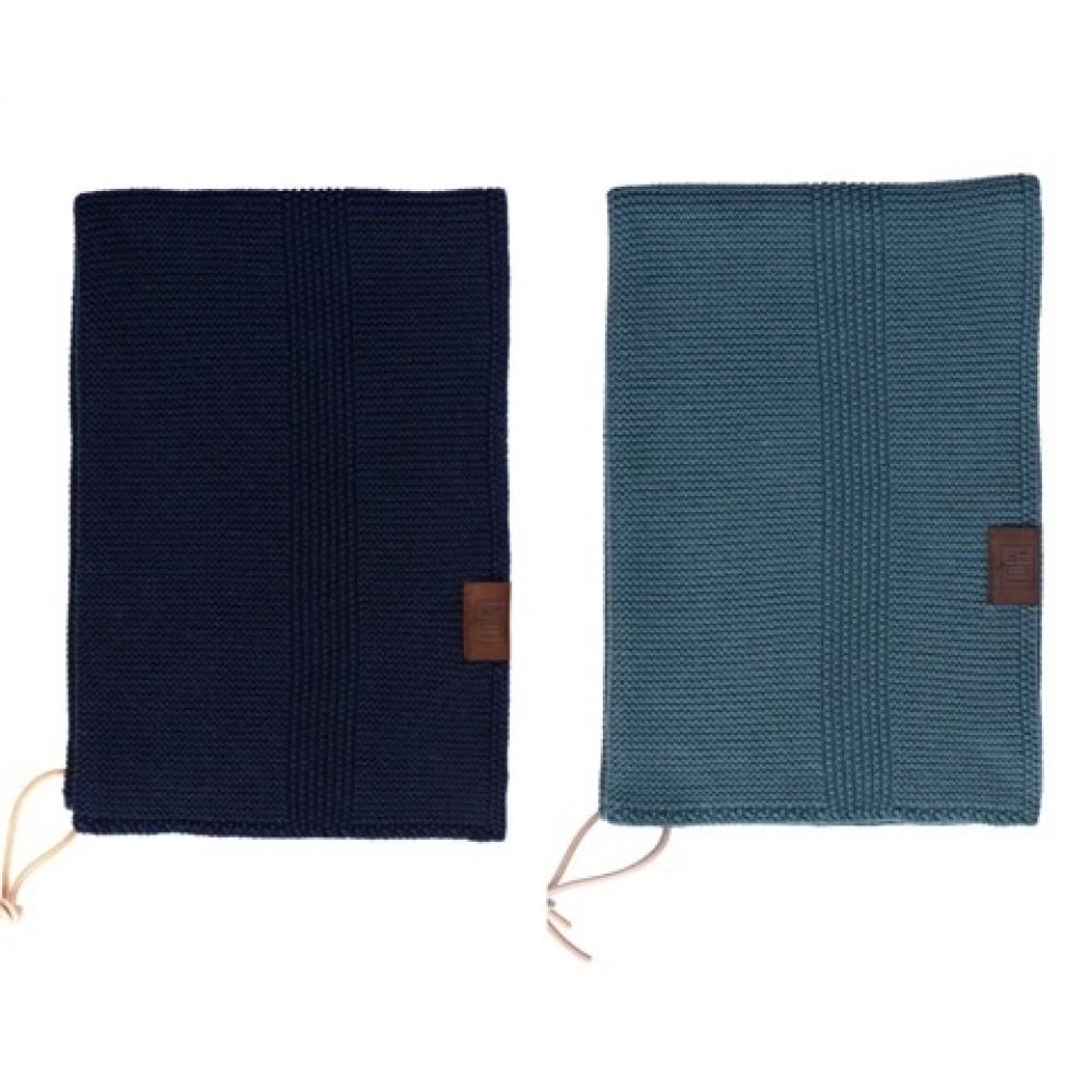 By Lohn all round towel 35x50 cm. 2 stk. petrol and navy-31