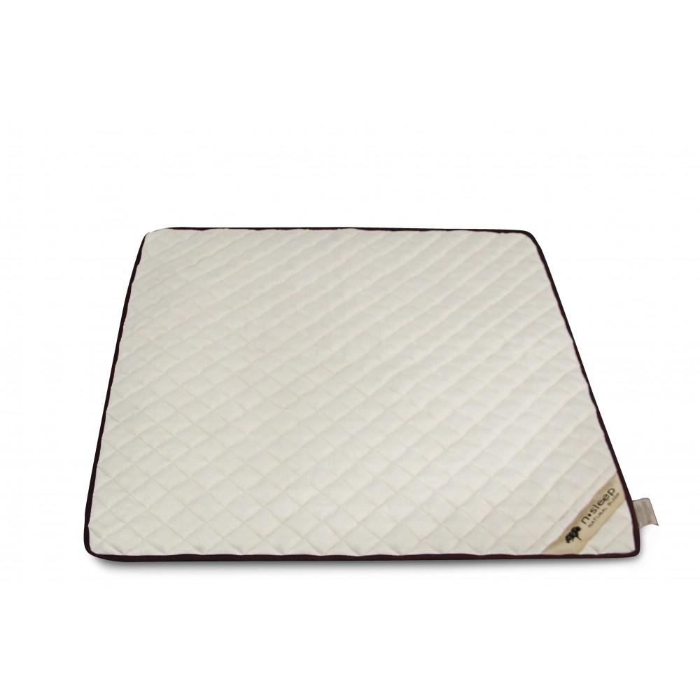 N-Sleep kapok legetæppe 100 x 100 cm.-01