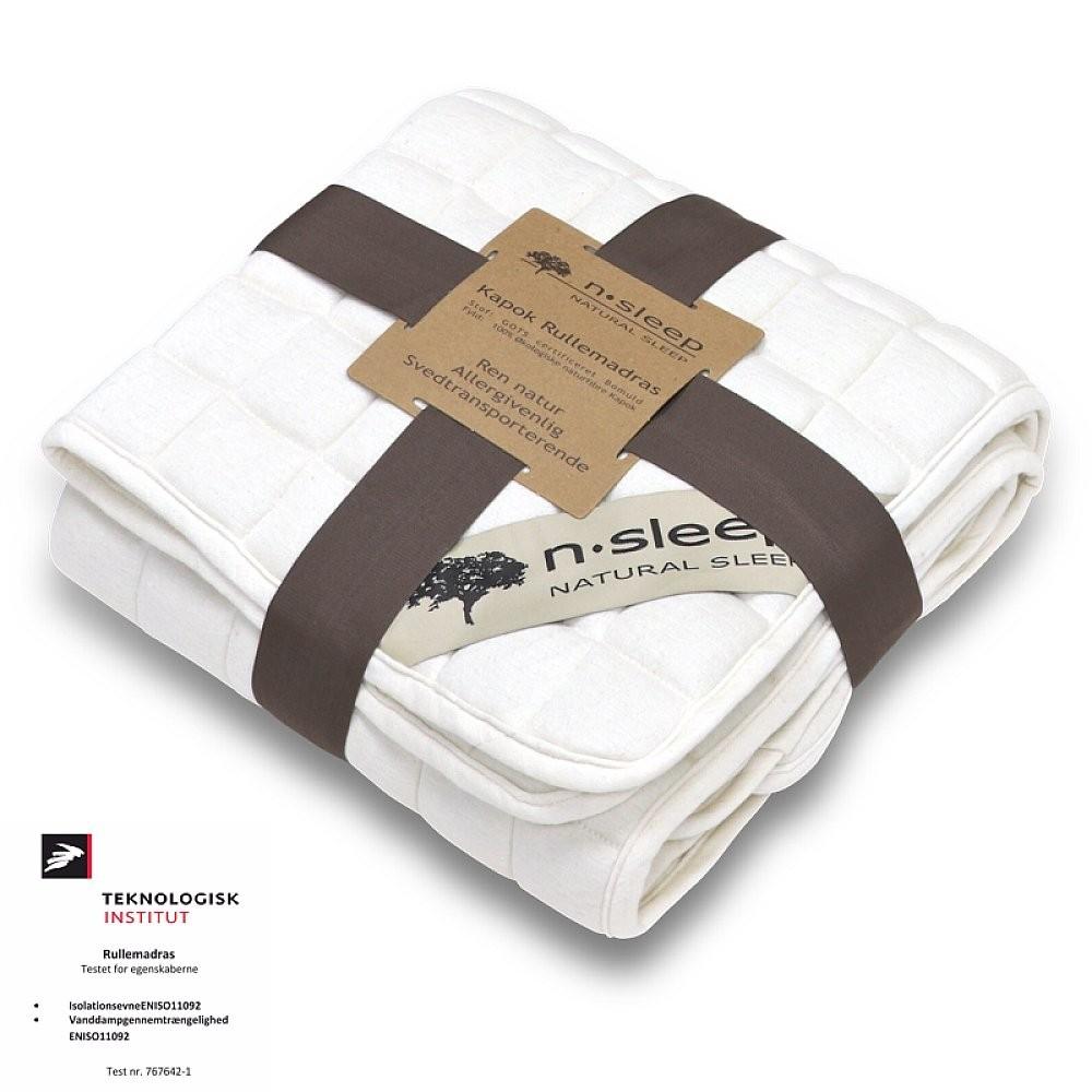 N-Sleep kapok rullemadrasser flere størrelser-31