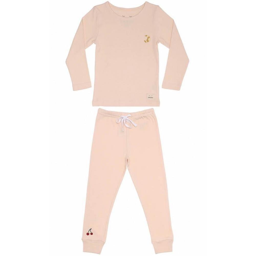 Snork Copenhagen pyjamas Olga delicate pink-31
