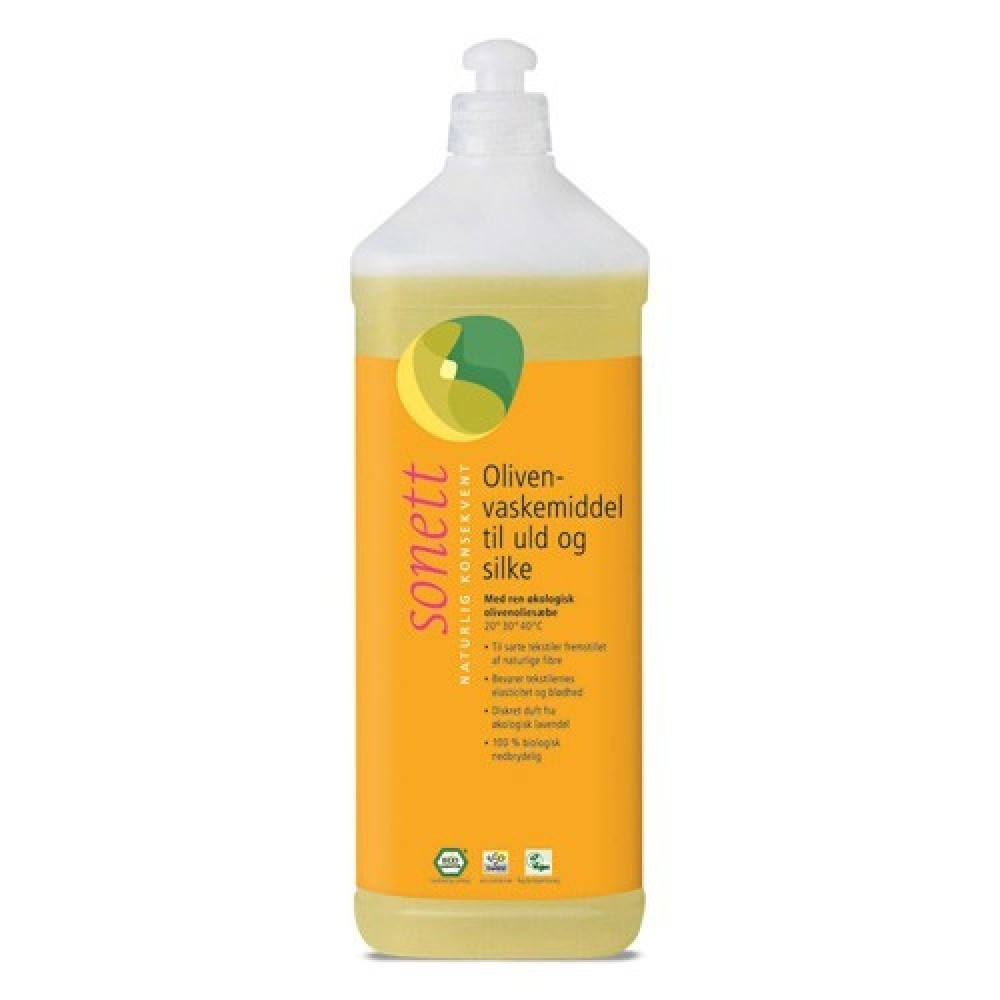 Sonett Oliven vaskemiddel til uld and silke 1 liter-31