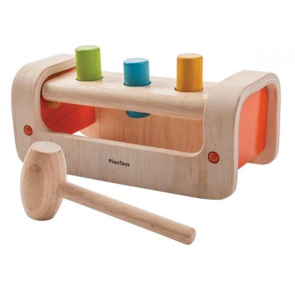 Plan Toys hammerbræt i træ-35