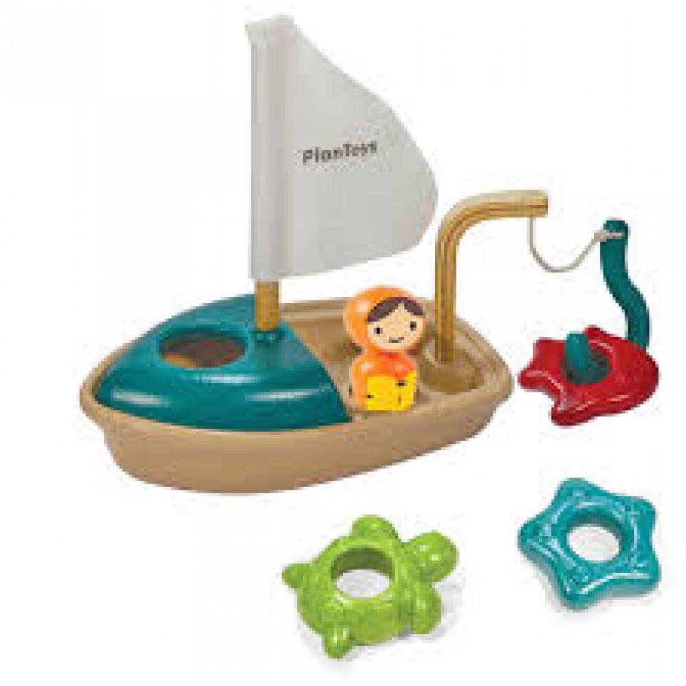 Plan Toys Aktivitetsbåd-31